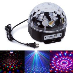 LED Disco rutulys | Šviečiantis rutulys kristalas LED