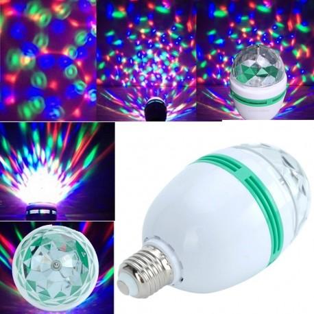 LED disco lemputė