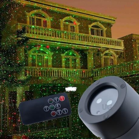 Lazerinis lauko projektorius L04   Kalėdinis lauko lazeris