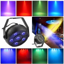 Šviesos efektas MINI RGB   Šiesos projektorius vakarėliams