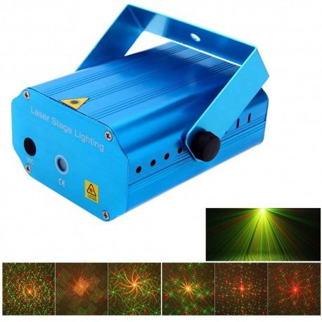 Automatinis lazerių projektorius šventėms X3