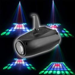 Šviesos efektas vakarėliams RGBW   Šviesos efektų projektorius