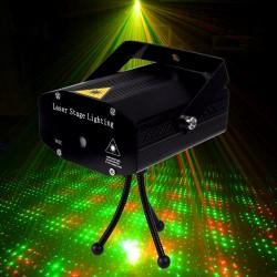 Automatinis lazerių projektorius   Žalias - raudonas lazeris