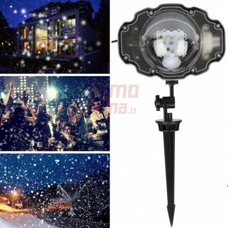 Lauko lazeris L33W | Kalėdinis lauko lazeris | Sniego efektas