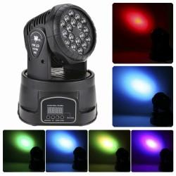 Profesionalus šviesos efektas 18 LED   Judanti galva